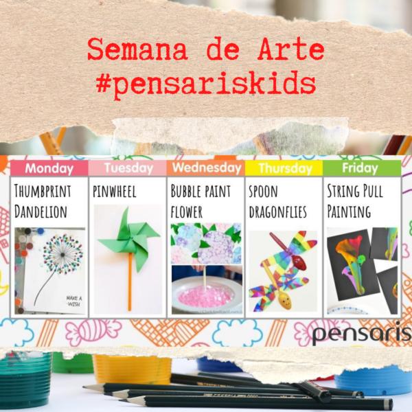 Semana de Arte #pensariskids